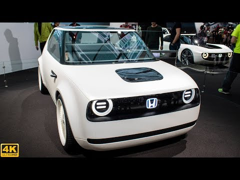 HONDA URBAN EV CONCEPT - GENEVA MOTOR SHOW [2018 4K]