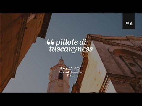 Pills of Tuscanyness - Piazza Pio II, Pienza (Bernardo Rossellino)