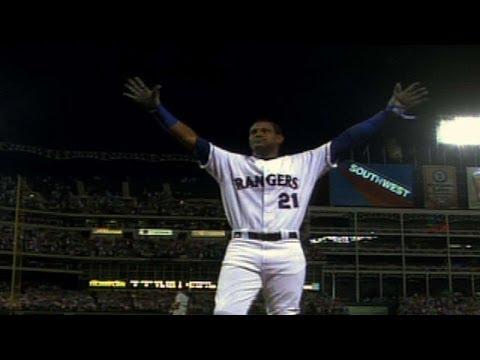 CHC@TEX: Sosa hits his 600th career home run