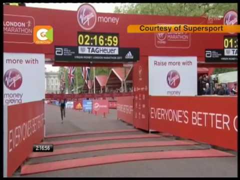 Keitany sets new world record in women's marathon