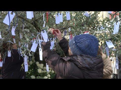 AFP: Commémorations des attentats du 13 Novembre: