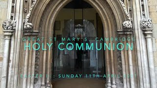 11-4-2021 Holy Communion (Easter II)