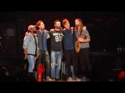 Maroon 5: Payphone (Hamilton, Mar 2017)