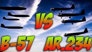 War Thunder B-57 Vs ARADO RUNWAY SHOW DOWN