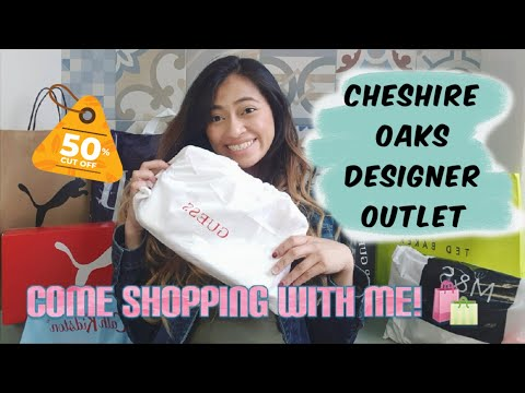 COME SHOPPING WITH ME/CHESHIRE OAKS/200 POUNDS BUDGET/DESIGNER OUTLET VILLAGE IN EUROPE
