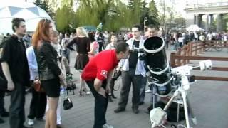 видео Международный день астрономии в Новосибирске