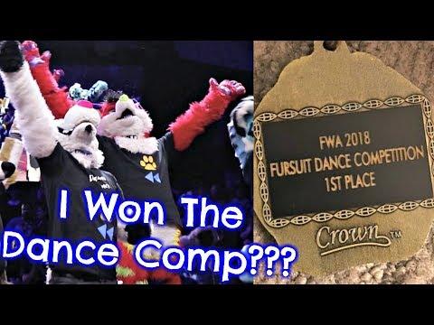 I WON A FURSUIT DANCE COMPETITION?!!