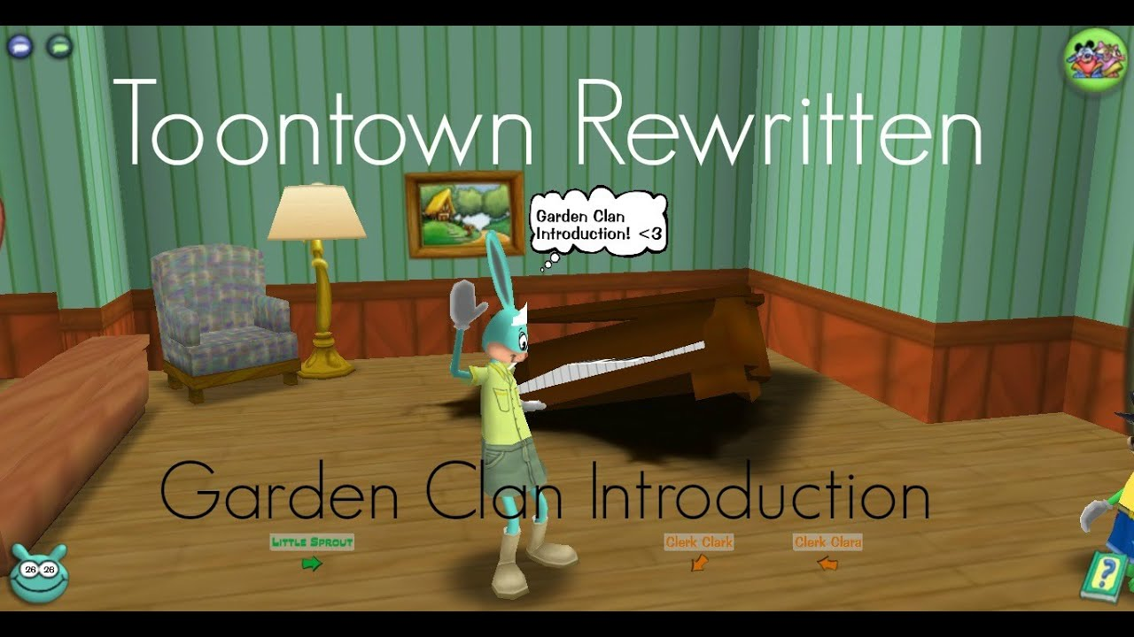 Toontown Rewritten~ Garden Clan Introduction (Tasks, Abilities ...