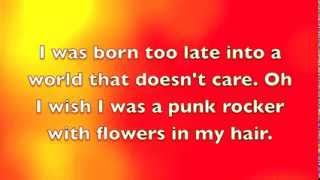 I Wish I Was A Punk Rocker (With Flowers in My Hair) ~ Sandi Thom