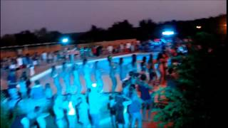 Pool party camping le CARBONNIER 2015