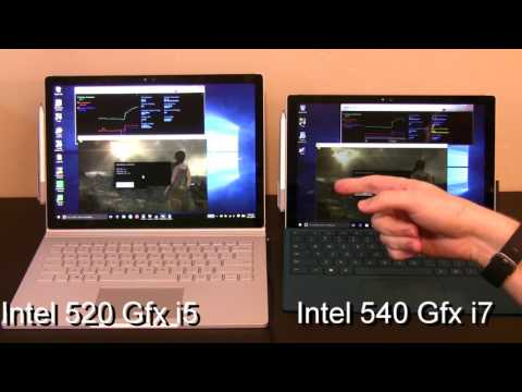 Surface Pro 4 i7 vs i5  (Intel 540 Graphics vs. Intel 520 Graphics)