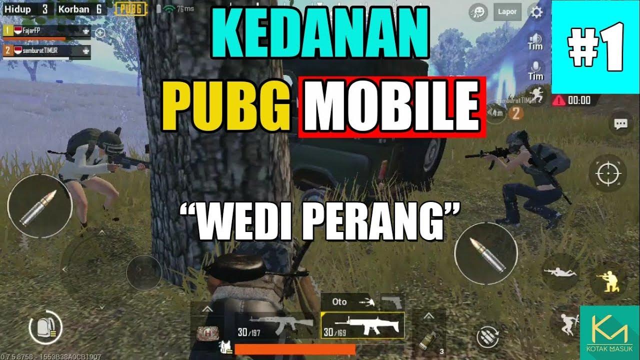 Kedanan PUBG Mobile Wedi Perang Bahasa Jawa