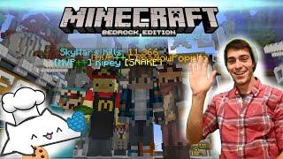 Minecraft Monday - Splitstream Bedrock Realms and Java Minigames!
