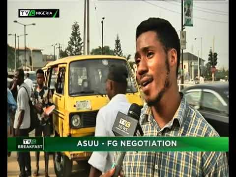 TVC Breakfast 16th Jan., 2019  ASUU - FG Negotiation
