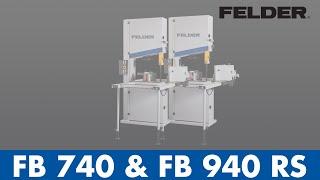 Felder® - Bandsaw Fb 740/940 Rs (eng)
