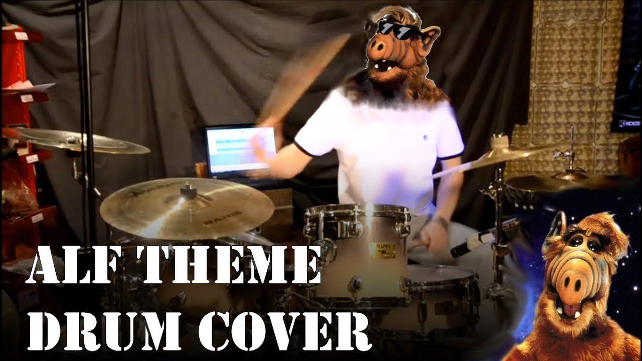 V0yteck Alf Theme Drumcover Youtube