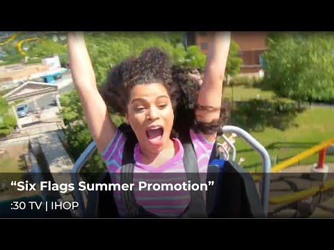 IHOP & Six Flags Fiesta Texas - Summer Fun Deal Promo :30 TV Commercial