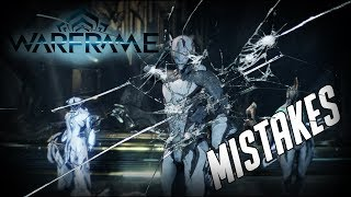 5 of the Biggest MISTAKES in Warframe!