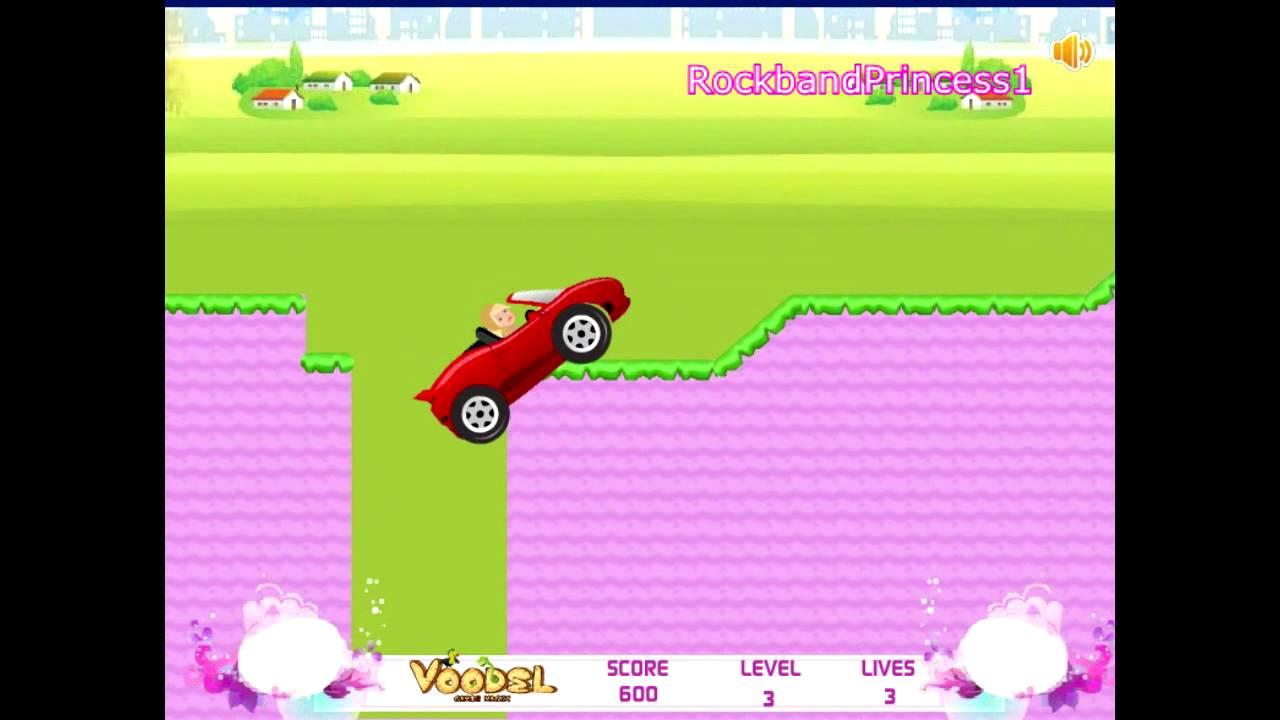 Barbie Car - Car Racing Games - Car Games