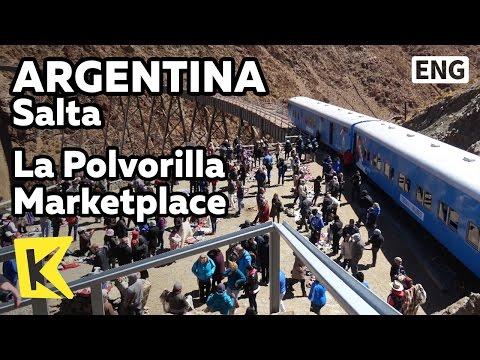 【K】Argentina Travel-Salta[아르헨티나 여행-살타]라 폴보리야 장터/La Polvorilla/Station/Lama/Souvenir/Marketplace