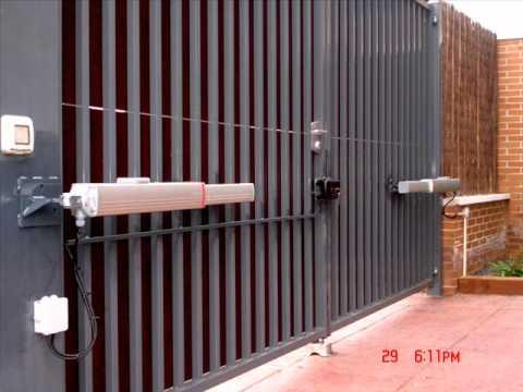 Brazos hidraulicos para puerta de garage batiente doovi - Brazos puertas automaticas ...