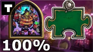Hearthstone: The Puzzle Lab -  Mirror | Dr. Boom 100%