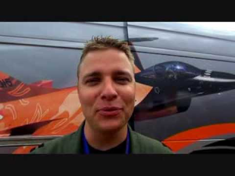 "Stefan ""Stitch"" Hutten The Royal Netherlands Air Force - F16 Demo Team na AIR SHOW-2013"