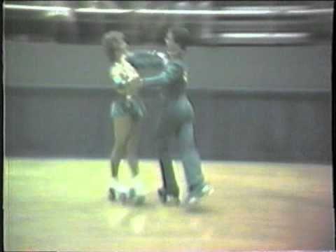 1984 Southwest Regional Roller Skating Championships - Senior Dance Final - Argentine Tango