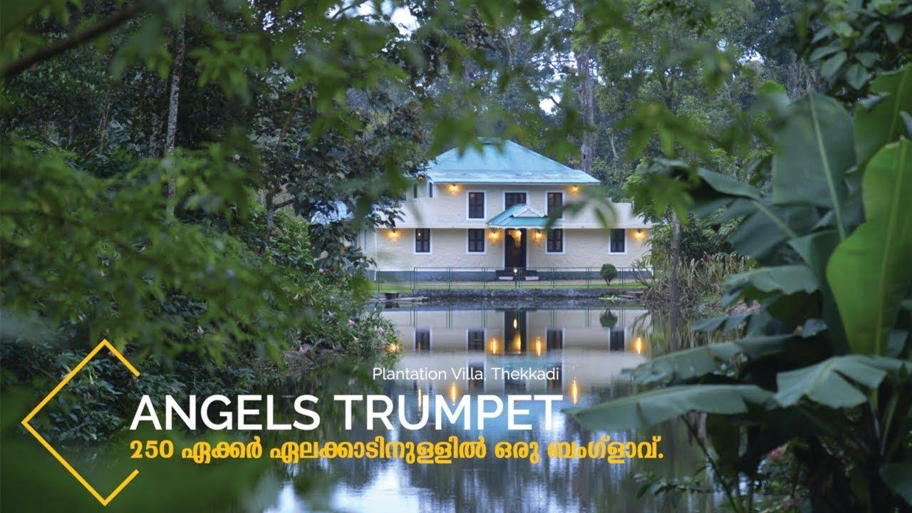 കാട്ടിനുള്ളിൽ ഒരു ബംഗ്ളാവ്  - Angels Trumpet Plantation Villa Thekkadi, Part 1