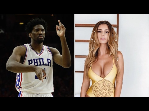 Joel Embiid Creeps on Instagram Model Bianca Ghezzi's Livestream