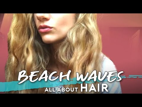 BEACH WAVES senza calore Hair Tutorial | Elisa Paglialunga