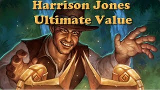 Hearthstone - Harrison Jones vs Jaraxxus