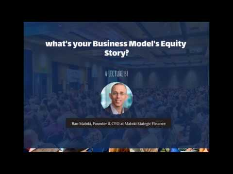 What's Your Business Model's Equity Story?