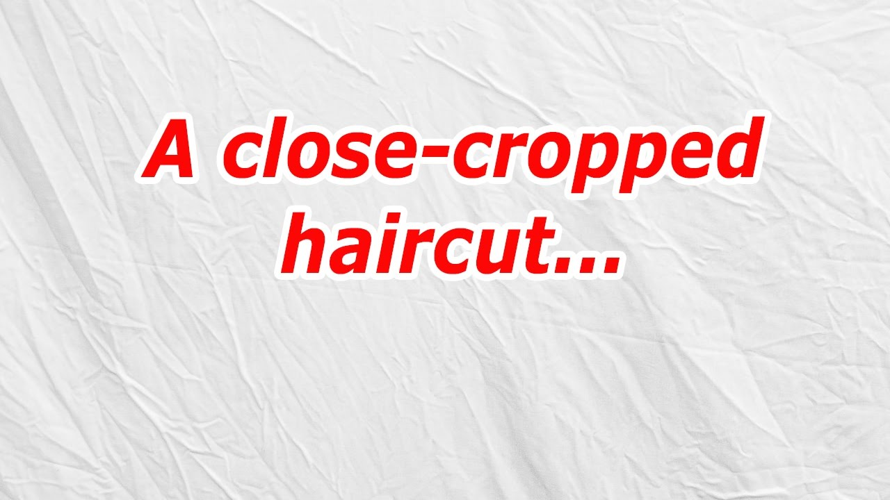 A close cropped haircut (CodyCross Answer/Cheat) - YouTube