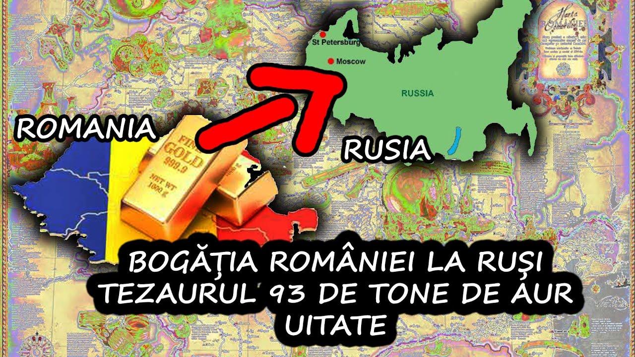 BOGATIA ROMANIEI, A TEZAURULUI LA MOSCOVA / 93 TONE DE AUR UITATE LA RUSI / ROMANIA FURATA PANA AZI