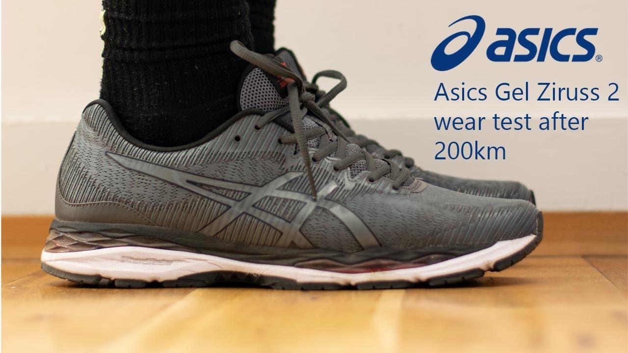 Asics Gel Ziruss II 200km wear test