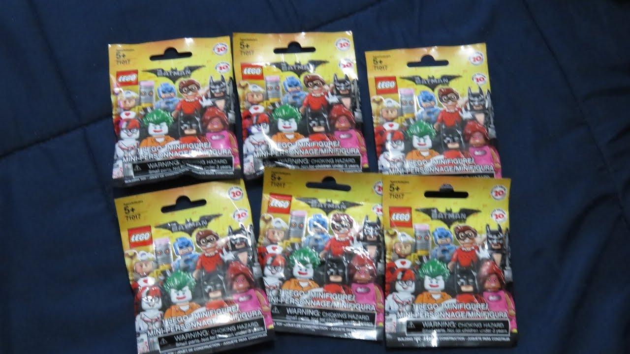 Lego Batman Movie Limited Edition Minifigures Blind Bag