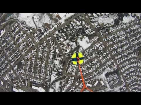 High Altitude Balloon Launch - Casper College - Casper WY