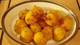Aloo Mashla | Fried Potatoes with Spices | Bengali Home Cooking