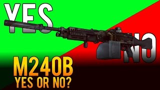 Yes or No - M240B Light Machine Gun (LMG) Weapon Review - Battlefield 4 (BF4)