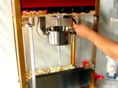 Elaboracion de palomitas dulces con mantequilla youtube - Como hacer palomitas de caramelo caseras ...