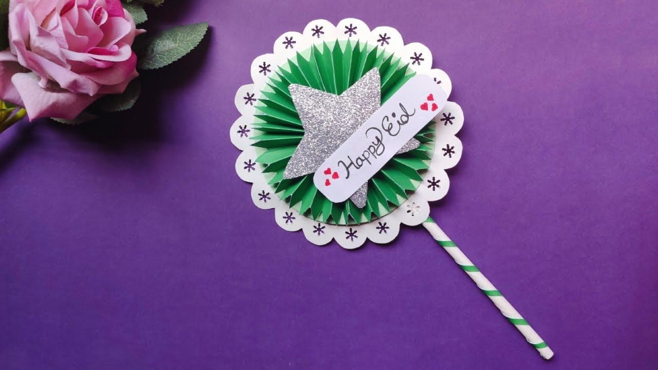 handmade greeting card for eid🌛  easy eid card  handmade