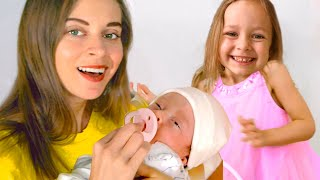 New baby Song | Kids Song by Maya and Mary