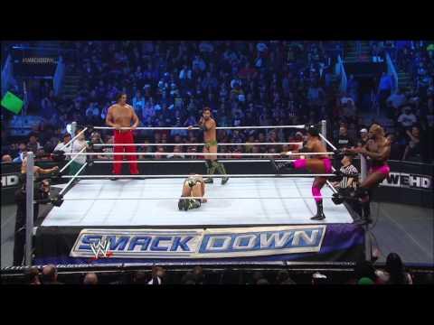 Eight-Man Tag Team Match: SmackDown, Dec. 14, 2012