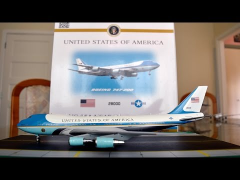 Inflight 1:200 Air Force One VC-25A (747-200B) Unboxing and Review