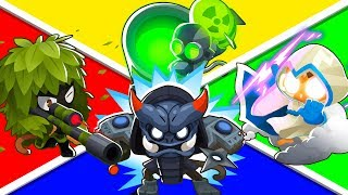 Bloons TD 6 - 4-Player Island Trap Challenge | JeromeASF