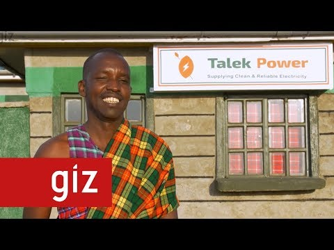 Enabling Access to Electricity in Rural Kenya with Solar Min