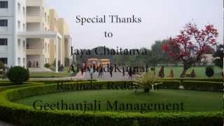 Geethanjali College of Engineering and Technology(GCTC),Keesara,Andhra Pradesh.
