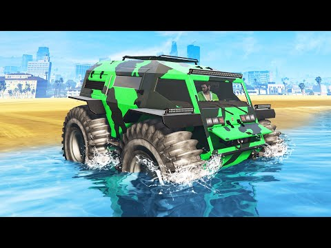 *NEW* TANK That Can DRIVE ON WATER In GTA 5! (DLC)