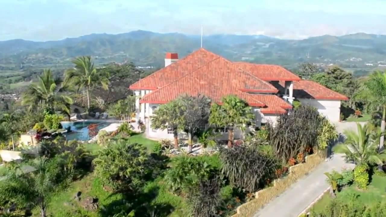 Costa rica mansions for sale in grecia costa rica youtube for Mansions in costa rica